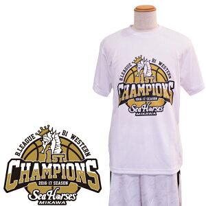シーホース地区優勝Tシャツ2