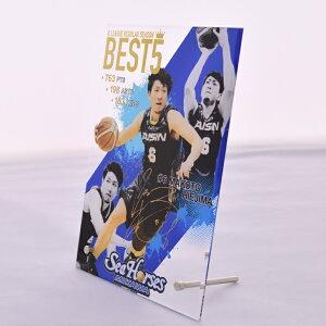 【B.LEAGUE】【Bリーグ】【比江島】#6比江島2016-17SEASONBEST5記念アクリルフォトフレーム02