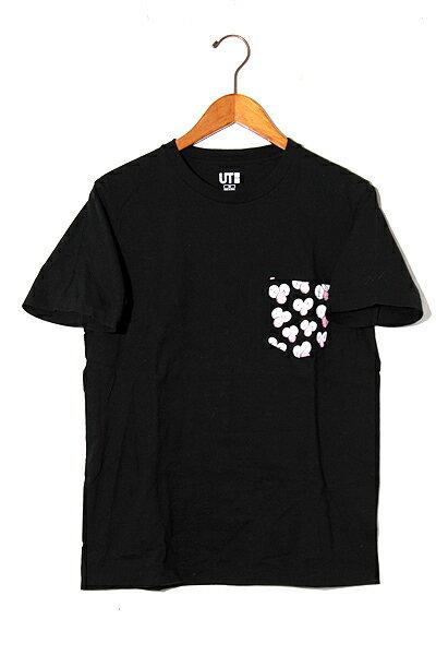 トップス, Tシャツ・カットソー 2019SS UNIQLO Kaws UT T M Black 200428
