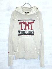 【TMT/ティーエムティー】 ミニ裏毛THE TMT BIGHOLIDAY スウェット パーカー アイボリー S TSW...