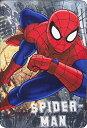 スパイダーマン SPIDERMAN フリースブランケット 毛布 100cm x 150cm 8605