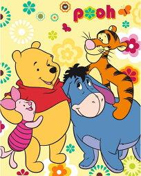 ブランケット クマのプーさん Winnie the Pooh フリース 120x150 cm