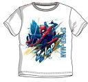 Spiderman スパイダーマン Tシャツ 子供服 半袖 1092白