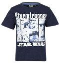 スター・ウォーズStar WarsTシャツ子供服半袖 1329紺