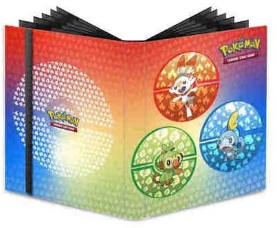 ファミリートイ・ゲーム, カードゲーム  9 UP - 9-Pocket Pro-Binder Pokemon Sword and Shield Galar Starters