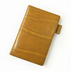 ポケットサイズ(ミニ6穴)のシステム手帳イエロー