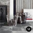 【fermliving】Wire Basket (ワイヤーバスケット) M / ファームリビン...