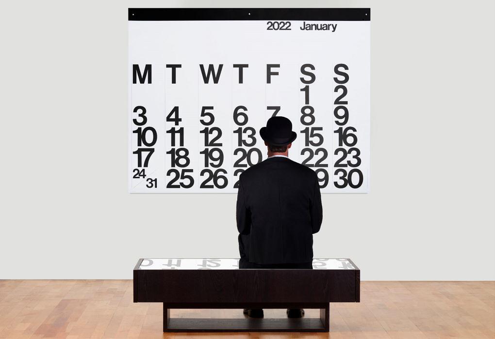 ステンディグ カレンダー箱不良 【 2021 Stendig Calendar 】ステンディグ カレンダー 2021 By Massimo Vignelli 正規販売店