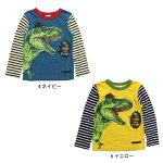 【ネコポス対応】【SiShuNon/FARM】ストリート系恐竜Tシャツファームキッズ男の子Tシャツ恐竜