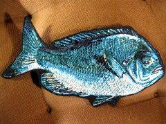 100% Made in JAPAN*本格刺繍魚ワッペン*メジナ20【送料無料】【アイロン接着】【釣り】【フィ...