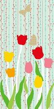 デザイン襖紙おりひめNo.004(チューリップ)(襖/ふすま/和紙/おしゃれ/張替/通販)