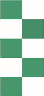漂亮的隔扇報紙orihime(市松綠寶石綠色)設計隔扇報紙(隔扇/隔扇/小雞/日本紙/摩登/檢查/市松花紋/張替/郵購)