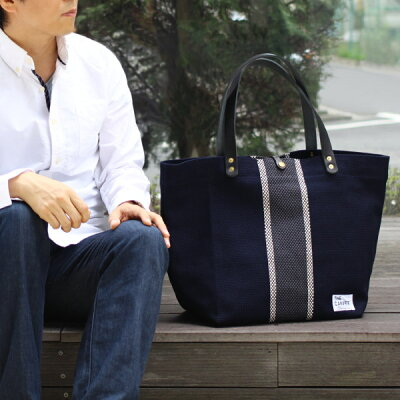 キャンベット藤岡染工場刺し子トートバッグ
