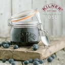 KILNER(キルナー)ROUND CLIPTOP JAR 0.5L(ラウンドクリップトップジャー)(保存 瓶 サラダ ピクルス ジャム ソース メイソンジャー おしゃれ) px10の写真