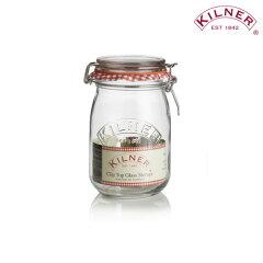 KILNER(キルナー)ROUND CLIPTOP JAR 1L(保存瓶/ジャー)【10P31Aug14】