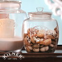 KILNER(キルナー)UNIVERSAL STORAGE JAR 0.85L(ユニバーサルストレージジャー0.85リットル)(保存瓶 パッキン 密封 レトロ ヴィンテージ キャニスター おしゃれ 可愛い 保存陽気 ガラス瓶 飾り)