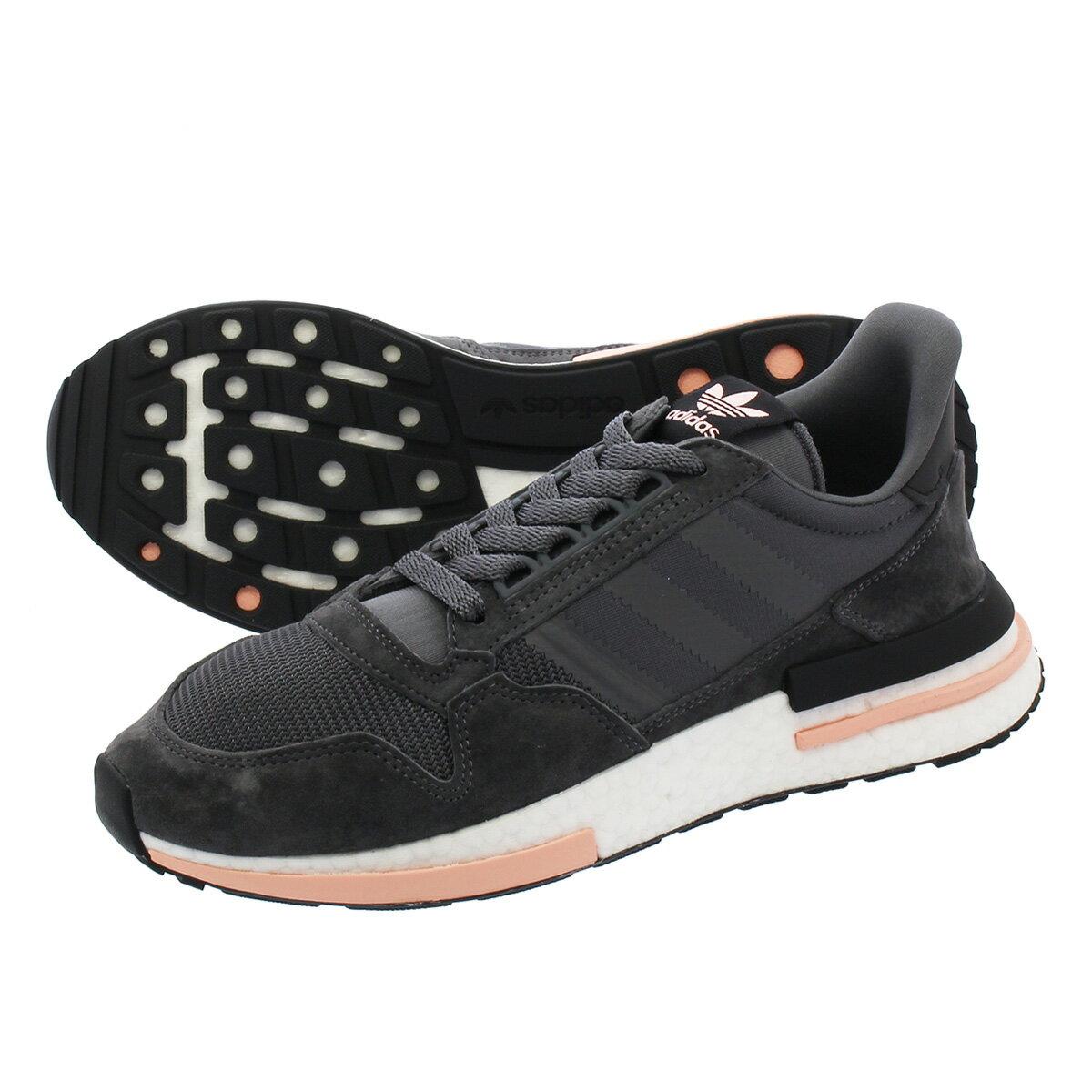 メンズ靴, スニーカー adidas ZX 500 RM adidas Originals ZX 500 RM GREY FIVERUNNING WHITECLEAR ORANGE
