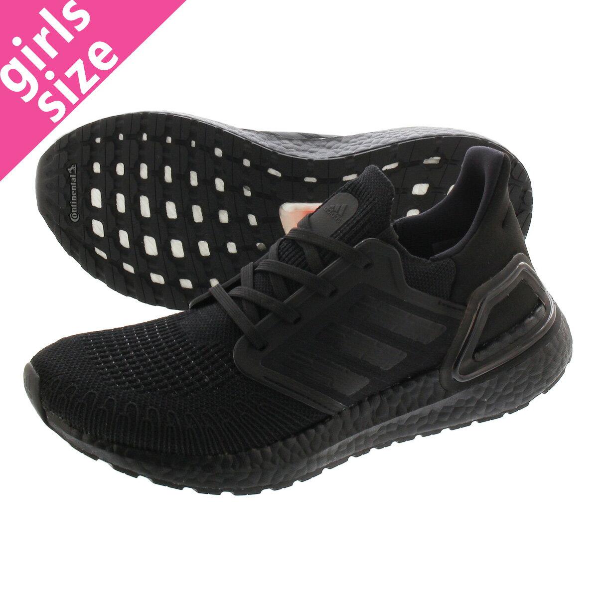 レディース靴, スニーカー  adidas ULTRABOOST 20 W 20 CORE BLACKCORE BLACKSOLAR RED fu8498