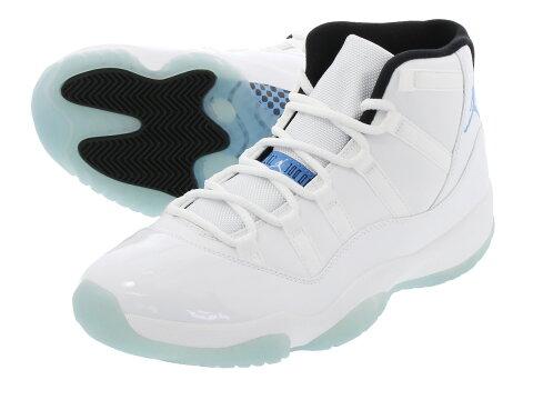 NIKE AIR JORDAN 11 RETRO 【LEGEND BLUE】 ナイキ エア ジョーダン 11 レトロ WHITE/LEGEND BLUE 378037-117