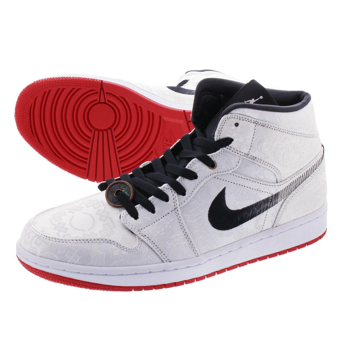 メンズ靴, スニーカー NIKE AIR JORDAN 1 MID SE FRLS GC CLOT 1 SE GC WHITEBLACKWHITE cu2804-100
