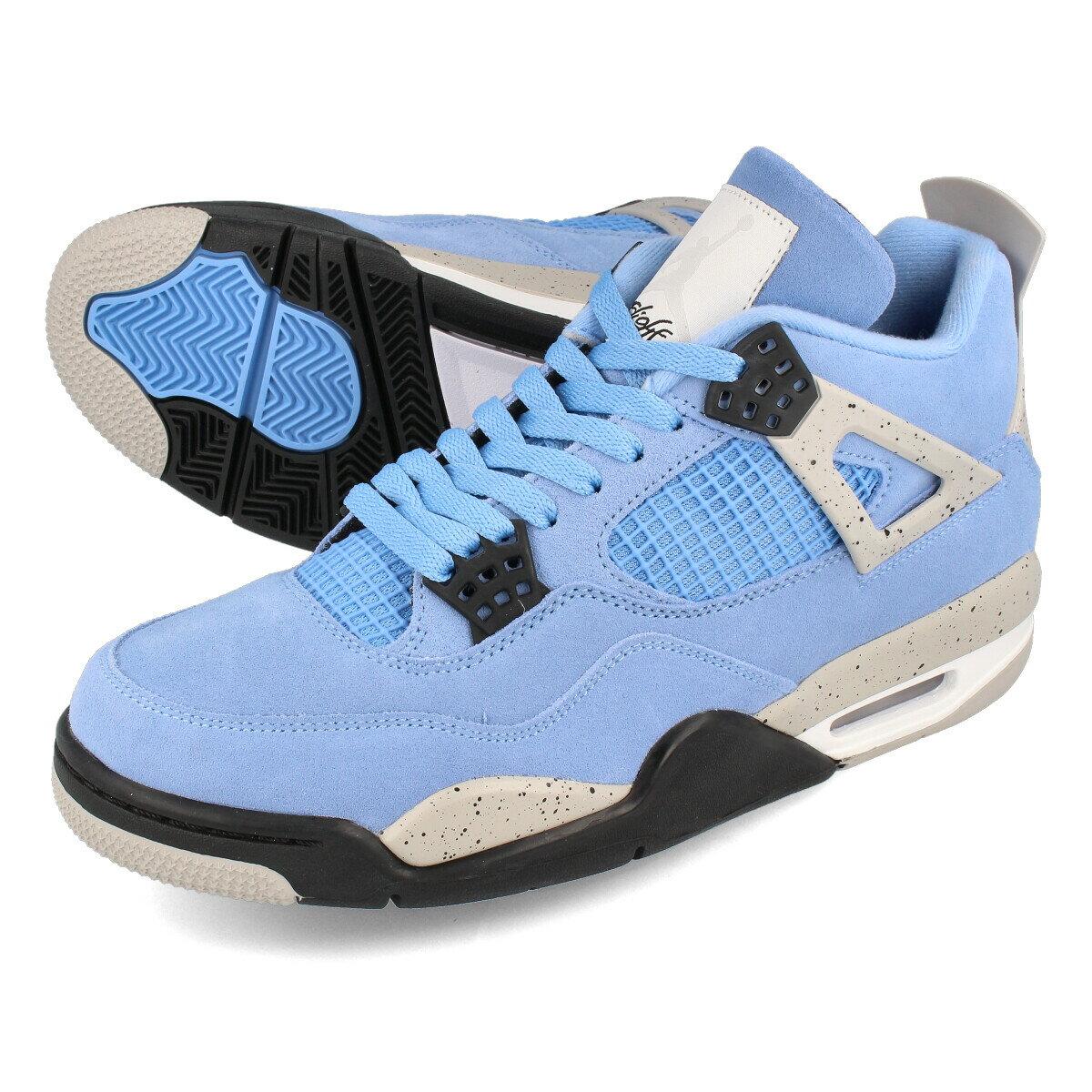 メンズ靴, スニーカー  NIKE AIR JORDAN 4 RETRO 4 UNIVERSITY BLUETECH GREYWHITEBLACK ct8527-400