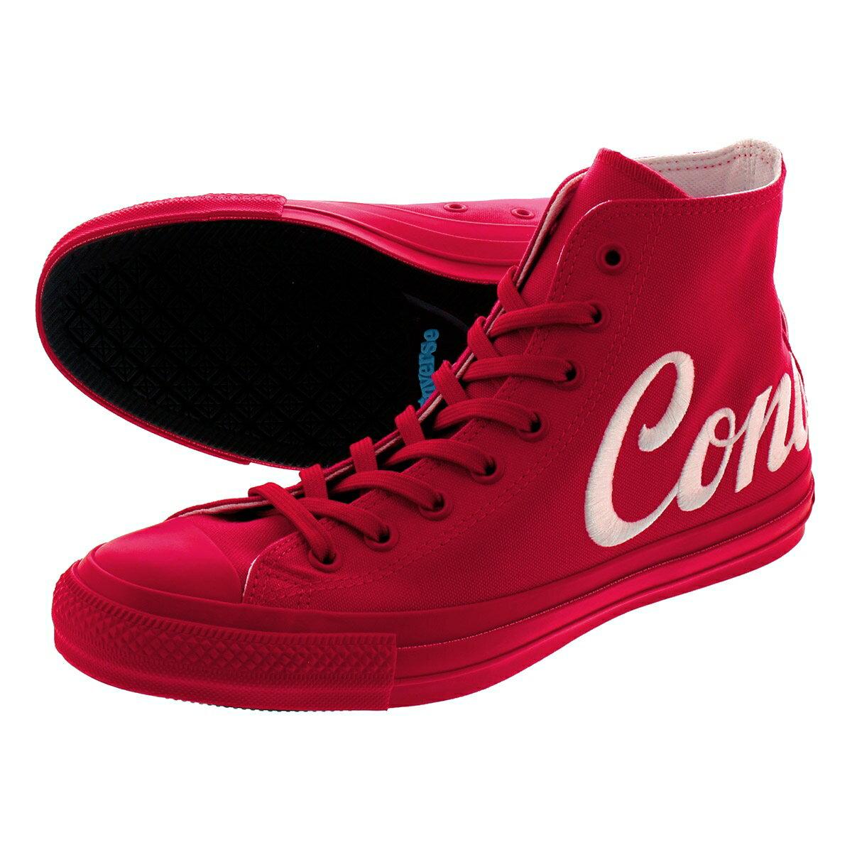 レディース靴, スニーカー  CONVERSE ALL STAR 100 LOGOEMBROIDERY HI 100 RED 31300900