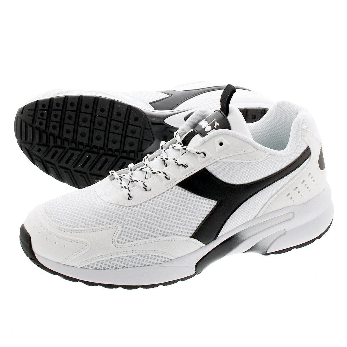 メンズ靴, スニーカー DIADORA DISTANCE 280 280 OPTICAL WHITEBLACK 175099-c0013