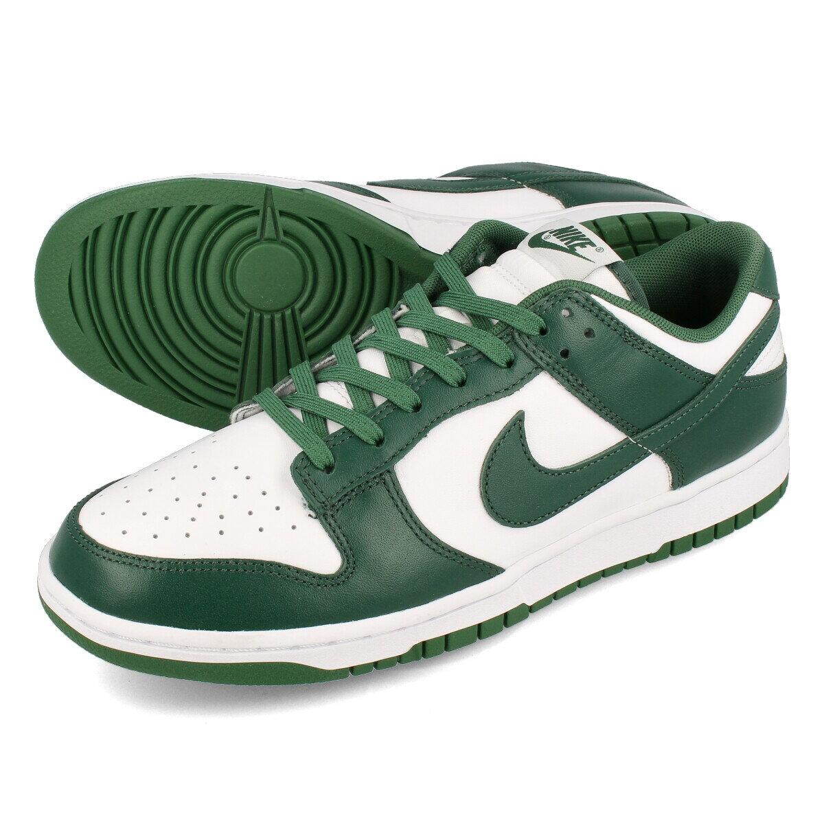 メンズ靴, スニーカー NIKE DUNK LOW RETRO WHITETEAM GREENWHITETOTAL ORANGE dd1391-101