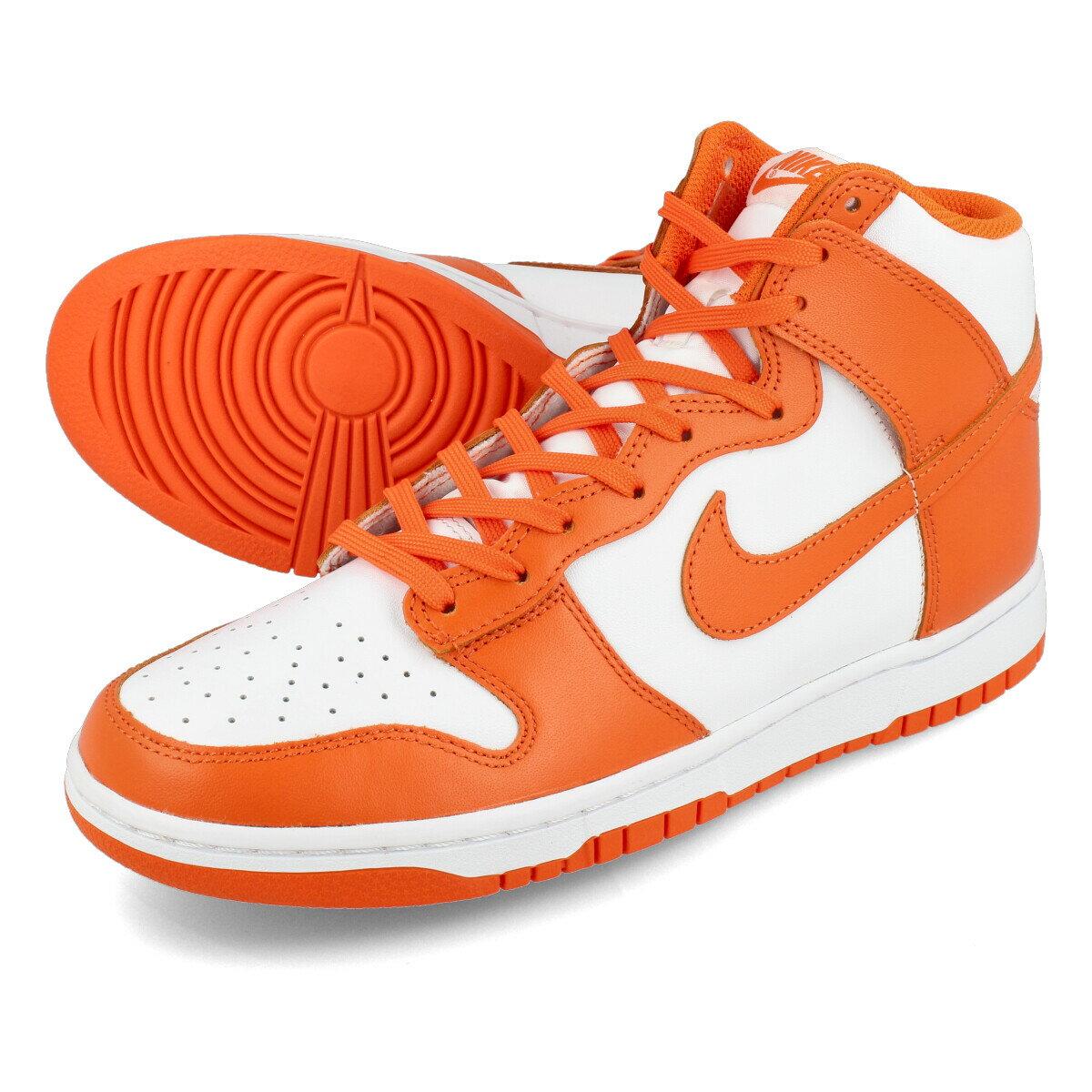 メンズ靴, スニーカー NIKE DUNK HIGH RETRO SYRACUSE WHITEORANGE BLAZE dd1399-101