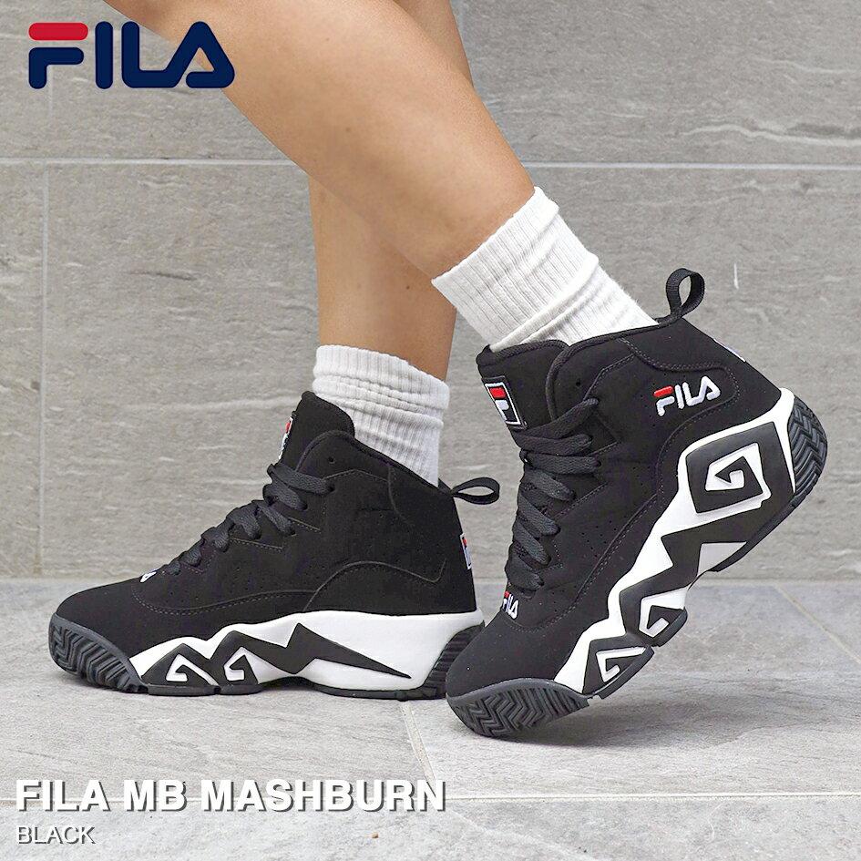 メンズ靴, スニーカー FILA MB MASHBURN MB FHE102 001 BLACK