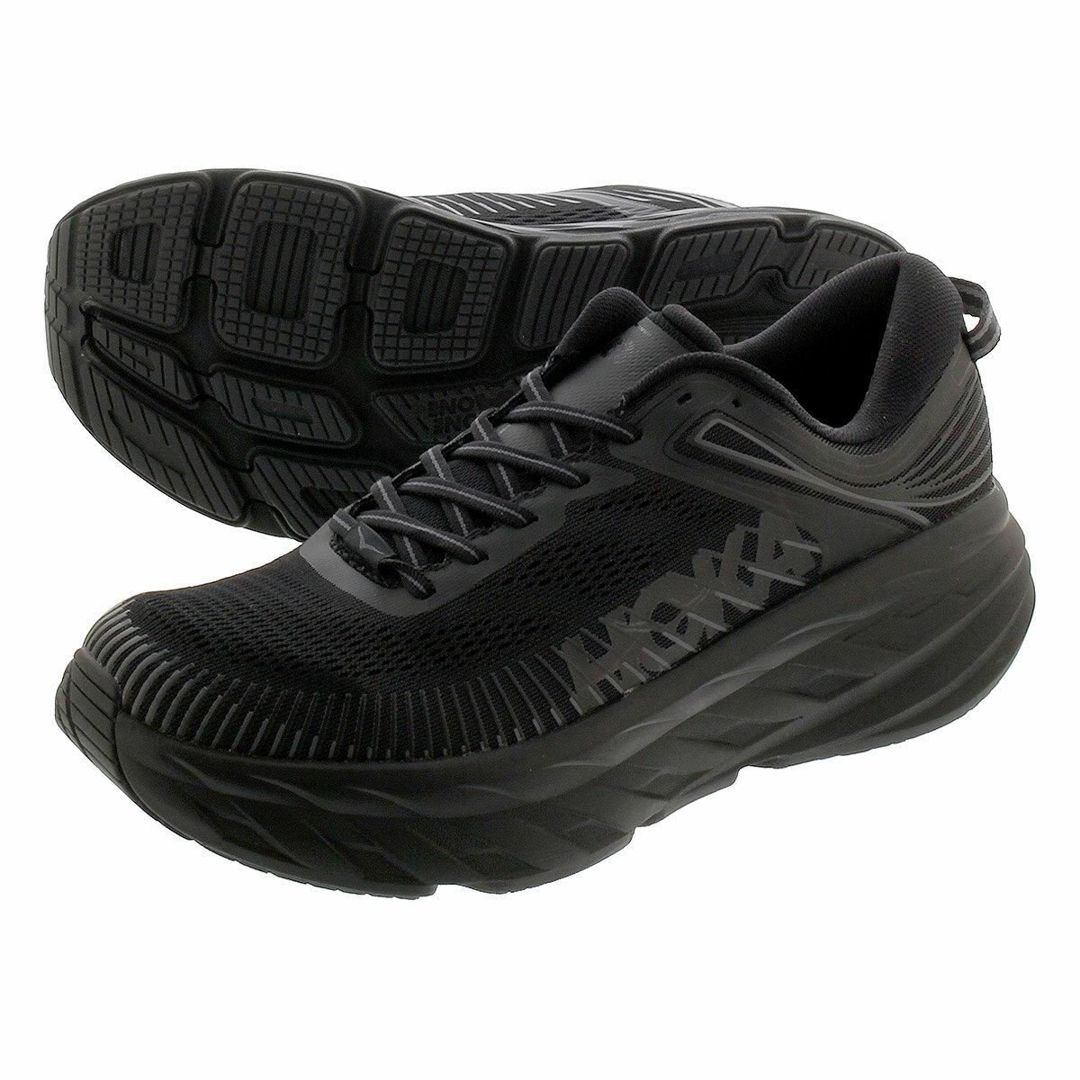 メンズ靴, スニーカー HOKA ONE ONE BONDI 7 7 BLACKBLACK 1110518-bblc