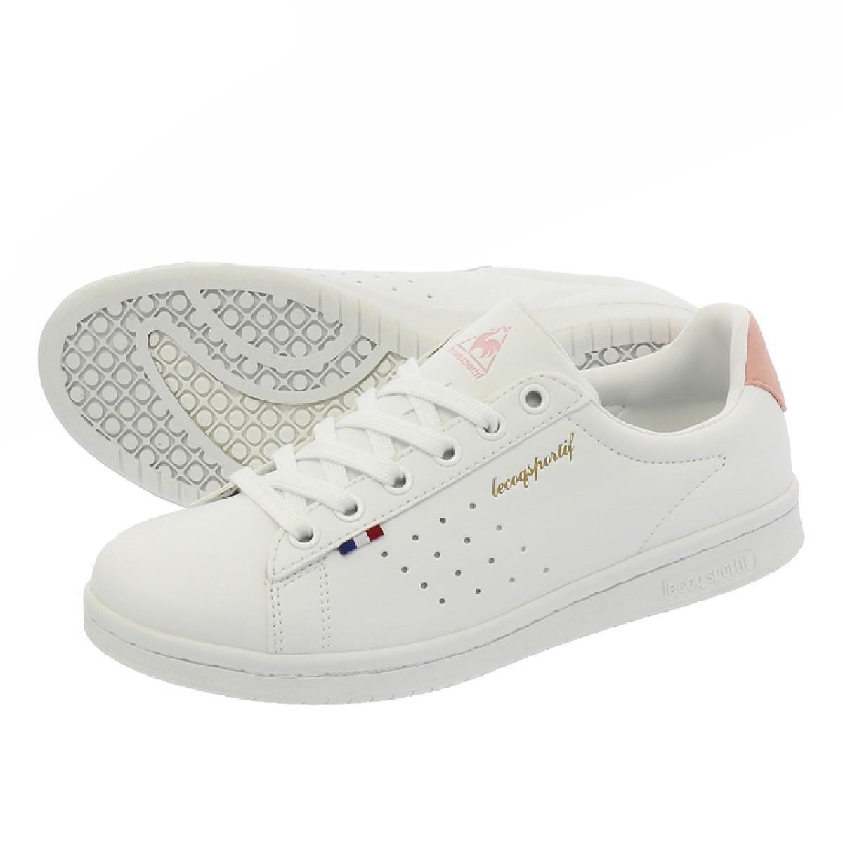 メンズ靴, スニーカー  le coq sportif LA ROLAND SL LA SL WHITEPINK ql1ljc16wp