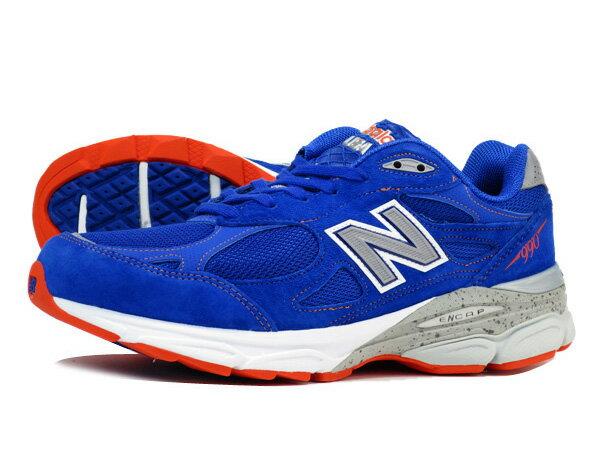 blue and orange new balance 990