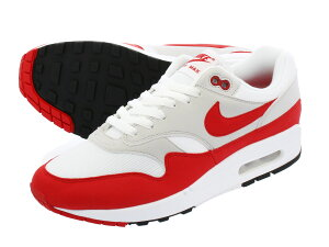NIKE AIR MAX 1 ANNIVERSARY ナイキ エア マックス 1 アニバーサリー WHITE/UNIVERSITY RED/NEUTRAL GREY/BLACK 908375-103