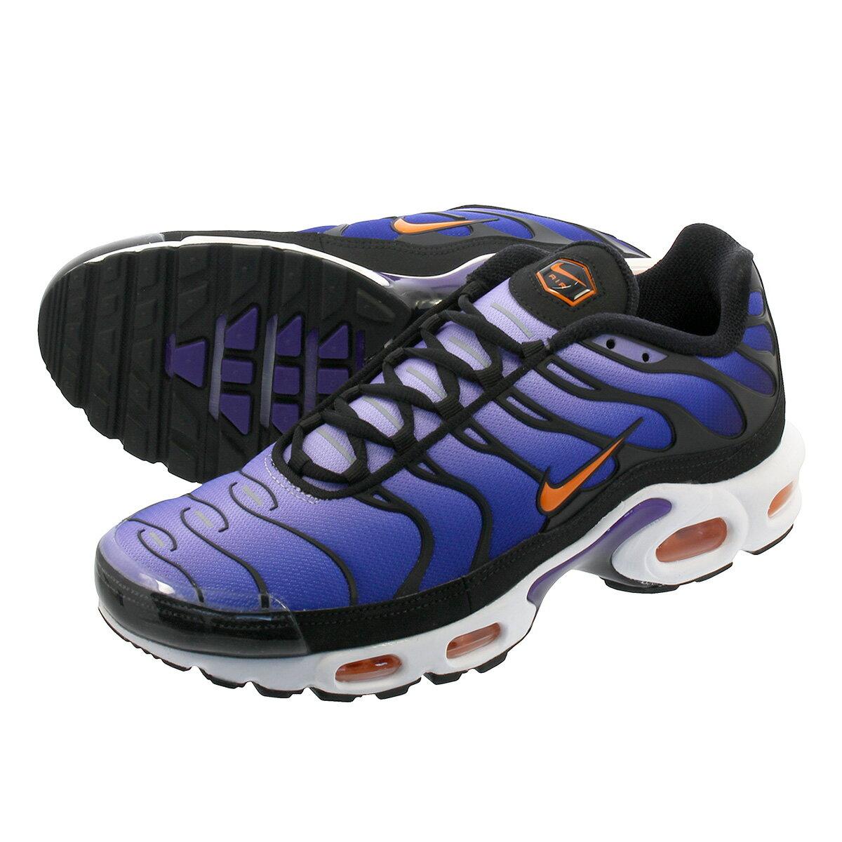 メンズ靴, スニーカー NIKE AIR MAX PLUS OG OG BLACKTOTAL ORANGEVOLTAGE PURPLE