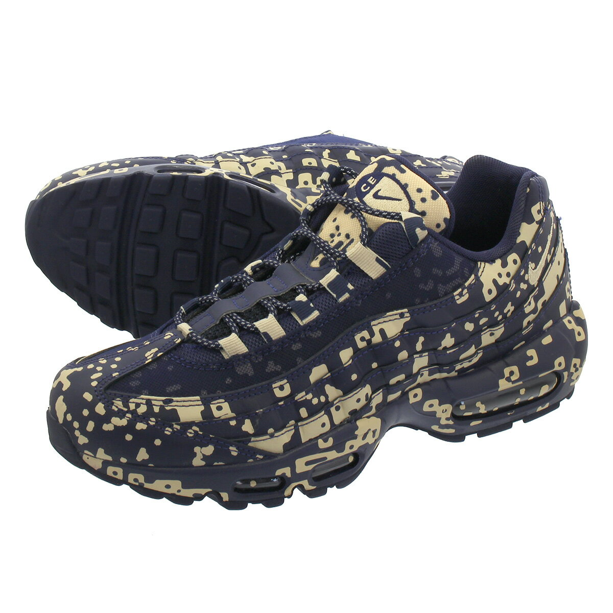 メンズ靴, スニーカー NIKE AIR MAX 95 CAV EMPT 95 BLACKENED BLUEDESERT OREav0765-400