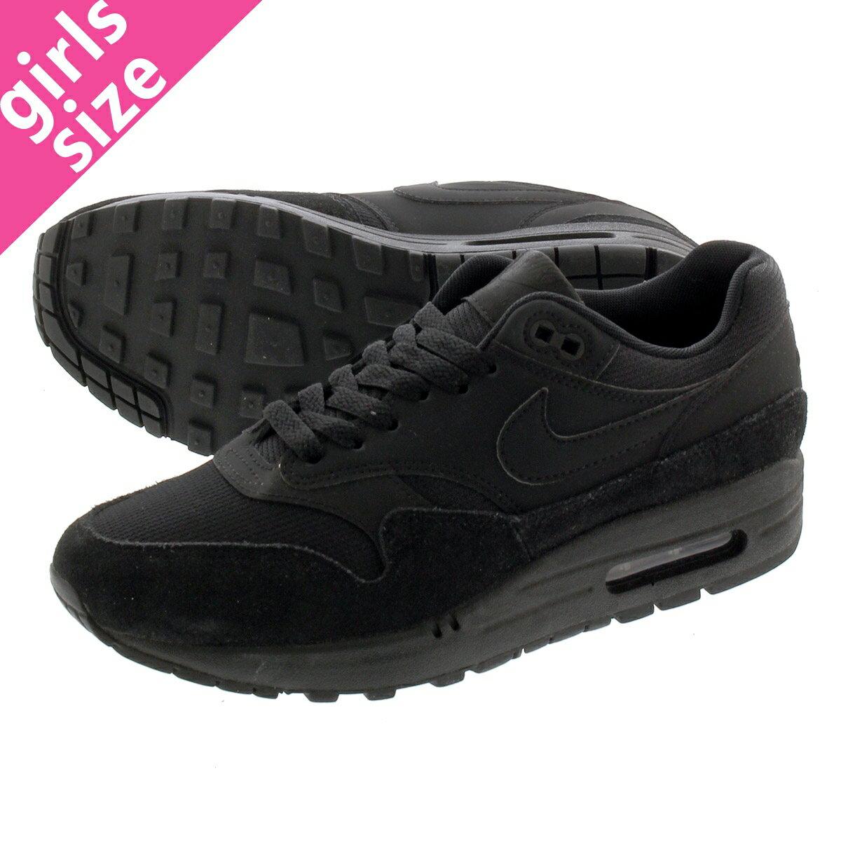 レディース靴, スニーカー NIKE WMNS AIR MAX 1 1 BLACKBLACKBLACK 319986-045