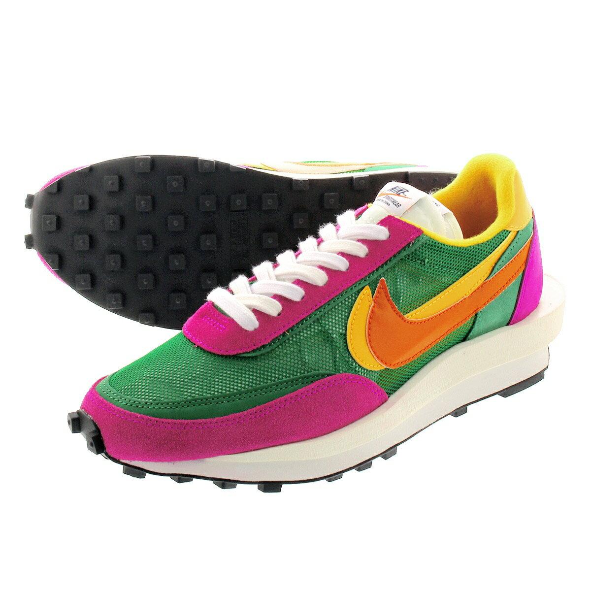 メンズ靴, スニーカー sacai x NIKE LD WAFFLE x LD PINE GREENCLAY ORENGEDEL SOL bv0073-301