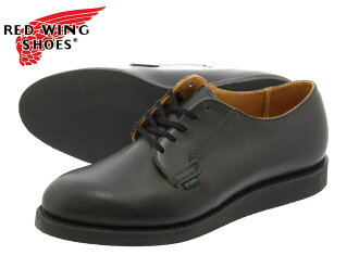 RED WING POSTMAN OXFORD BLACK 101