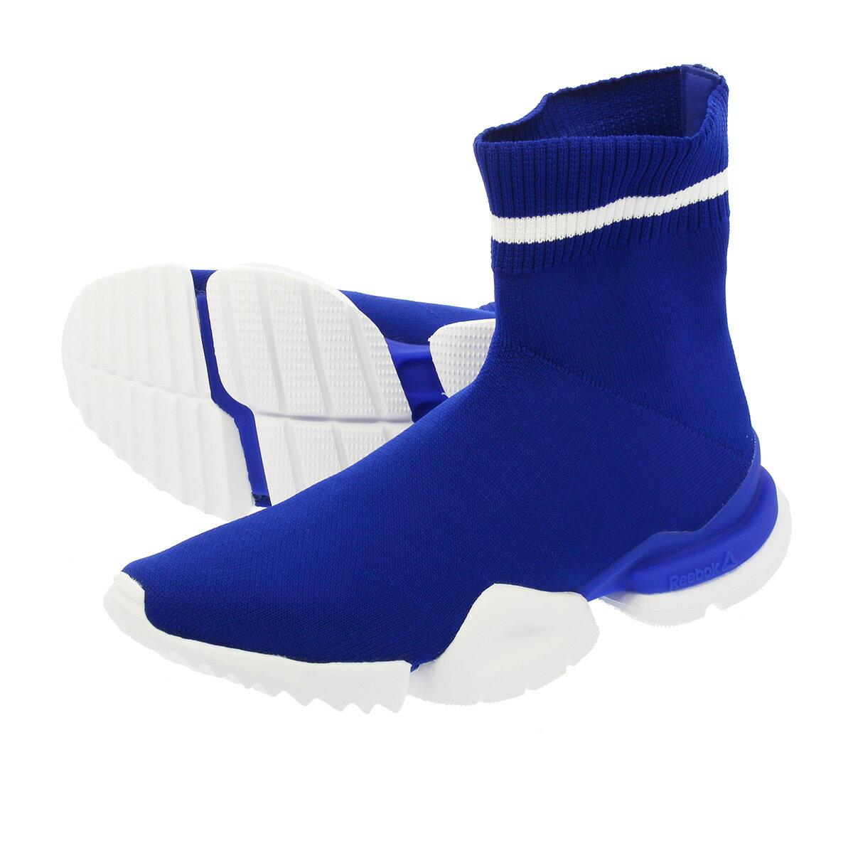 メンズ靴, スニーカー  Reebok SOCK RUN R R SKULL GREYWHITEBLUE MOVE