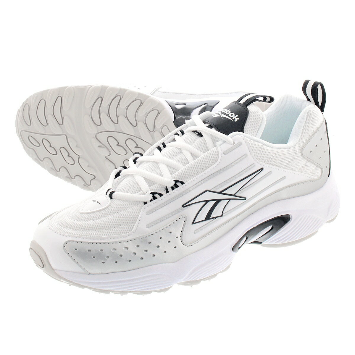 メンズ靴, スニーカー Reebok DMX SERIES 2K WHITEBLACKSKULL GREY dv9717