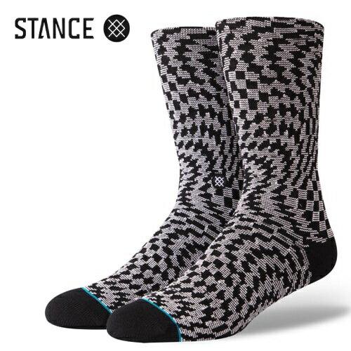ユニセックス, 靴下・レッグウェア STANCE SOCKS HYSTERIA BLACK m566d18hys
