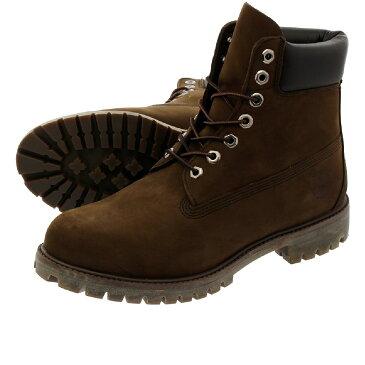 TIMBERLAND 6inch PREMIUM BOOTS ティンバーランド 6インチ プレミアム ブーツ DARK CHOCOLATE 10001