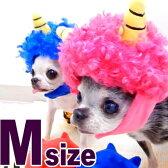 【チワワ 帽子】鬼キャップ Mサイズ 節分帽子【チワワ 小型犬 節分 おに 鬼 コスプレ 雷様 ドリフ】