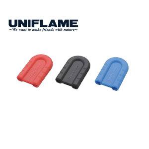 UNIFLAMEユニフレームちびパンシリコンハンドルブルーキャンプ調理ソロフライパン(BLUE):666432
