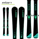 エラン ELAN 21-22 エレメントブラック ELEMENT W BLACK + ELW9 (金具付) レディース