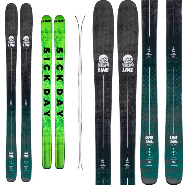 LINE ライン 19 20 スキー SICK DAY スキー用品 104 シックデイ