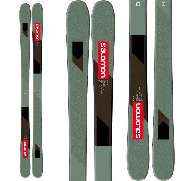 SALOMON サロモン 19-20 スキー 2020  NFX (板のみ) スキー板 フリースタイル (onecolor):