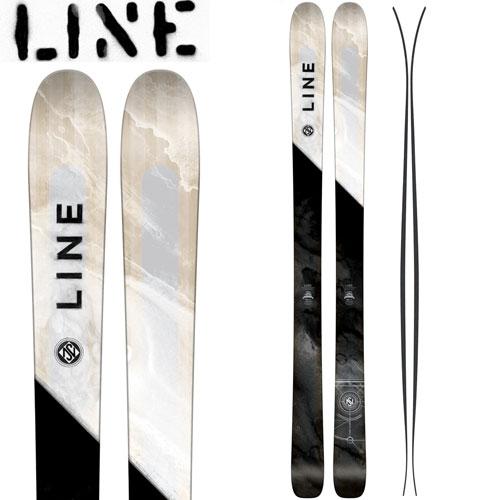 LINE ライン 17-18 スキー Ski 2018 SUPERNATURAL 100 スーパーナチュラル 100 [板のみ] オールマウンテン フリーライド パウダー (-)::PDスキークラブ365