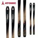 ATOMIC アトミック 18-19 スキー Ski 2019 バックランド BACKLAND 85 オールマウンテン ツアースキー 山スキー (-):AA0027204